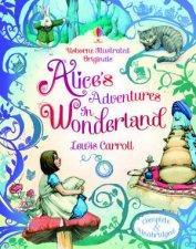 Usborne Illustrated Originals Alice In Wonderland
