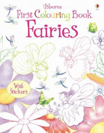 First Colouring Book: Fairies by Jessica Greenwell
