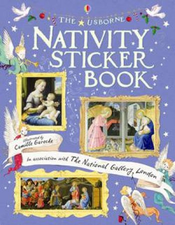 Nativity Sticker Book by Jane Chisholm