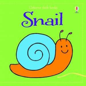 Usborne Cloth Books: Snail