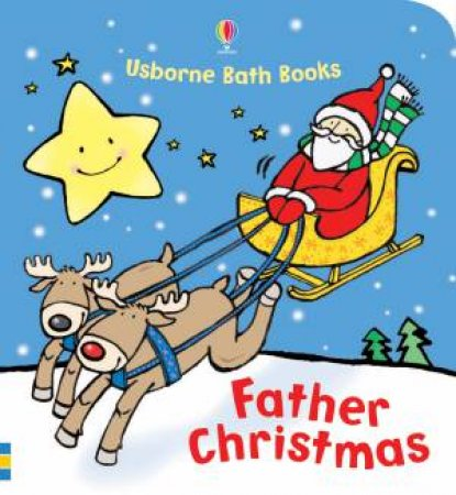 Usborne Bath Books: Father Christmas by Fiona Watt