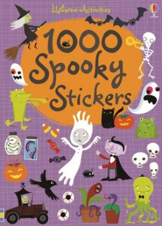 1000 Spooky Stickers