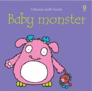 Usborne Cloth Books: Baby Monster