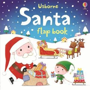 Usborne Santa Flap Book by Sam Taplin