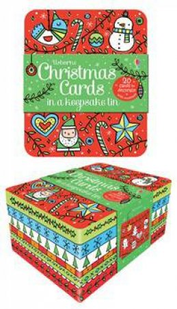 Christmas Cards Tin by Various