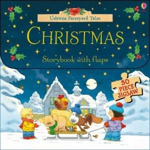 Farmyard Tales: Christmas Flap Book And Jigsaw