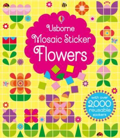 Mosaic Sticker Flowers by Various