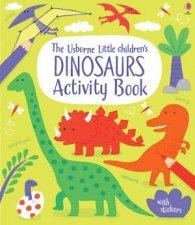 Little Childrens Dinosaurs Activity Book