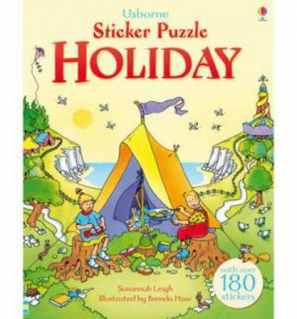 Sticker Puzzle: Holiday