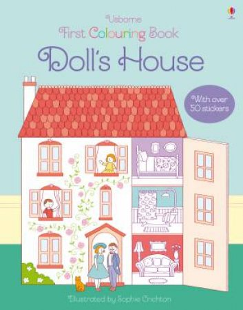 First Colouring Book: Doll's House