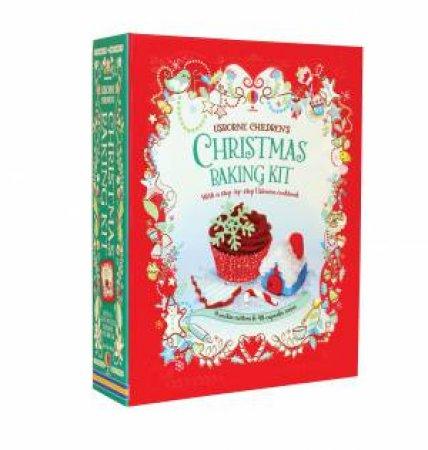 Children's Christmas Baking Kit by Abigail Wheatley & Fiona Patchett