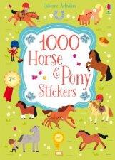 Usborne Activities 1000 Horse And Pony Stickers