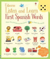 Listen and Learn: First Words in Spanish by Various