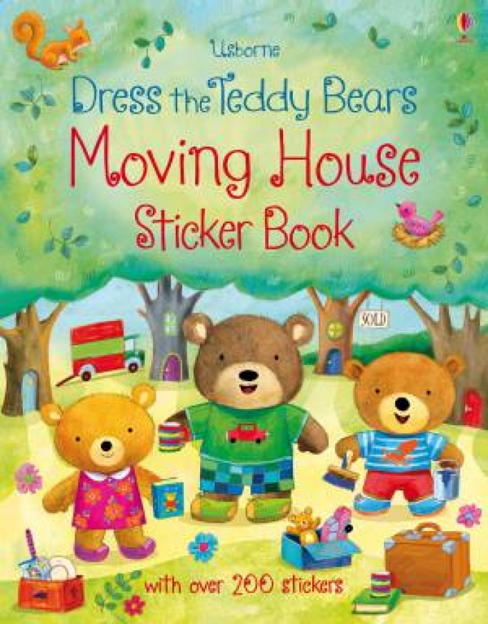 Dress The Teddy Bears: Moving House Sticker Book by Felicity Brooks & Ag Jat ...