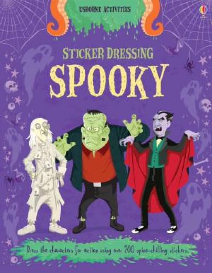 Sticker Dressing: Spooky by Louie Stowell [Paperback]