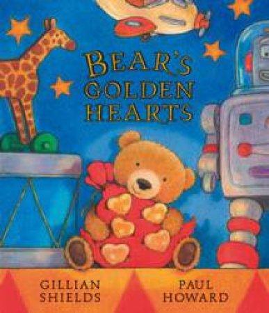 Bear's Golden Hearts by Gillian Shields