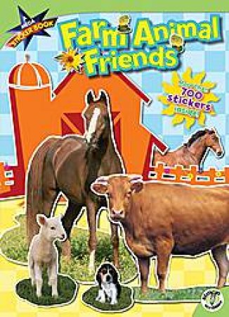 Farm Animal Friends, A Mega Sticker Book by Siobhan Ciminera