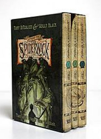 Beyond the Spiderwick Chronicles: The Nixies Song, A Giant Problem, The Wyrm King  by Tony DiTerlizzi
