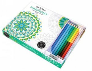 Vive Le Color: Harmony (Colouring Book and Pencils)