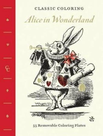 Classic Colouring: Alice in Wonderland