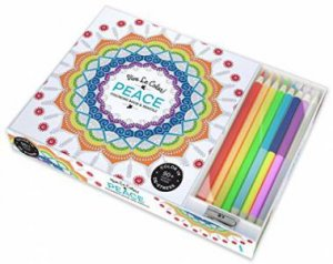 Vive Le Color: Peace (Colouring Book & Pencil Kits)