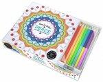 Vive Le Color: Peace (Colouring Book & Pencil Kits) by Various