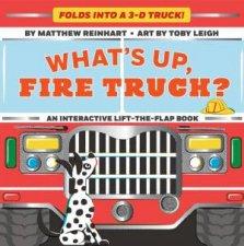 Whats Up Fire Truck A Pop Magic Book