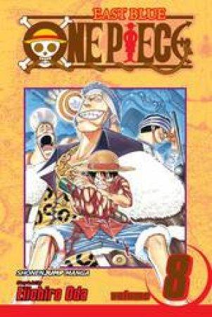 One Piece 08 by Eiichiro Oda