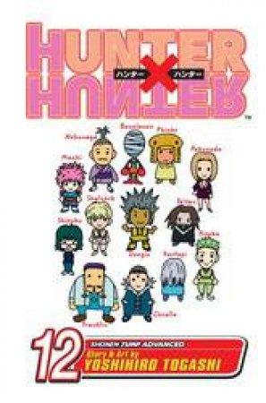 Hunter X Hunter 12 by Yoshihiro Togashi