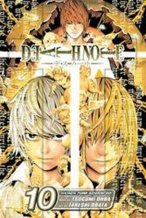 Death Note 10 by Tsugumi Ohba & Takeshi Obata