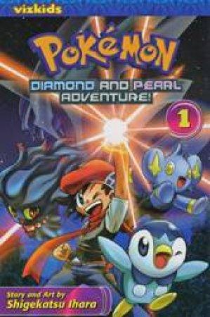 Pokemon Diamond & Pearl Adventure! 01 by Ihara Shigekatsu