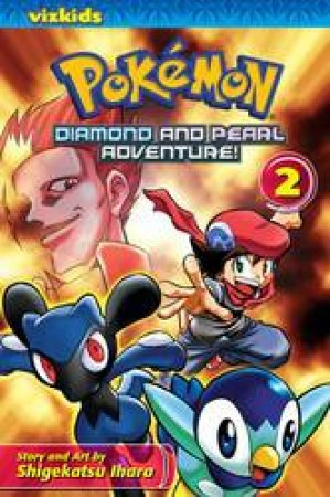 Pokemon Diamond & Pearl Adventure! 02 by Shigekatsu Ihara