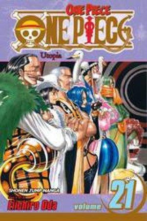 One Piece 21 by Eiichiro Oda