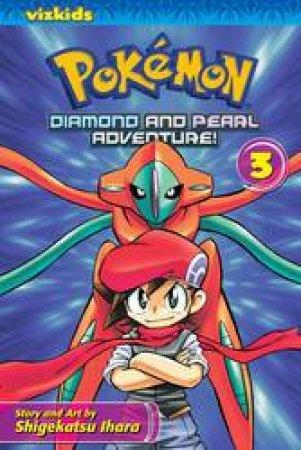 Pokemon Diamond & Pearl Adventure! 03 by Shigekatsu Ihara