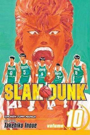 Slam Dunk 10 by Takehiko Inoue