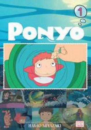 Ponyo Film Comic 01 by Hayao Miyazaki