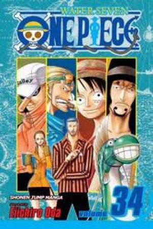 One Piece 34 by Eiichiro Oda