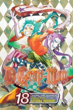 D.Gray-Man 18 by Katsura Hoshino