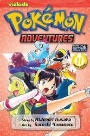 Pokemon Adventures 11 by Hidenori Kusaka & Satoshi Yamamoto