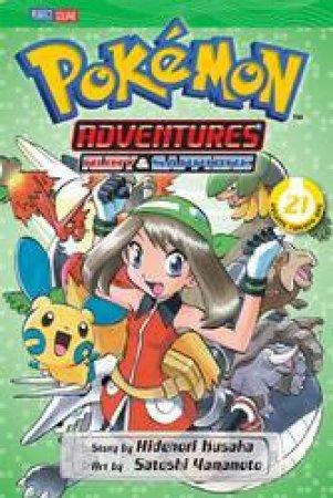 Pokemon Adventures 21 by Hidenori Kusaka