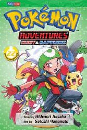 Pokemon Adventures 22 by Hidenori Kusaka & Satoshi Yamamoto