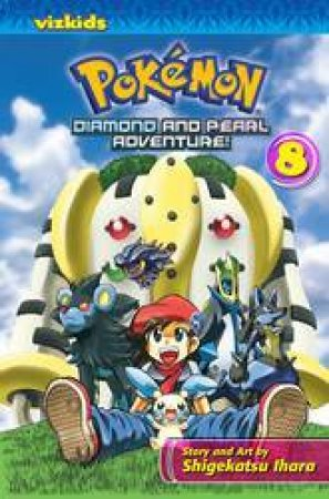 Pokemon Diamond & Pearl Adventure! 8 by Shigekatsu Ihara