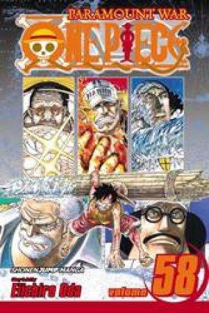 One Piece 58 by Eiichiro Oda