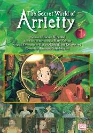 The Secret World Of Arrietty Film Comic 01 by Hiromasa Yonebayashi