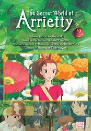 The Secret World Of Arrietty Film Comic 02 by Hiromasa Yonebayashi