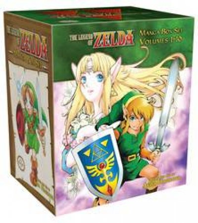 The Legend Of Zelda Box Set 01-10 by Akira Himekawa