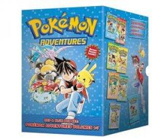 Pokemon Adventures: Red & Blue Box Set 01-07 by Hidenori Kusaka