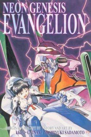 Neon Genesis Evangelion (3-in-1 Edition) 01 by Yoshiyuki Sadamoto