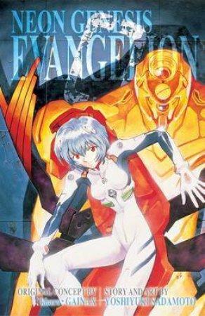 Neon Genesis Evangelion (3-in-1 Edition) 02 by Yoshiyuki Sadamoto