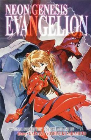 Neon Genesis Evangelion (3-in-1 Edition) 03 by Yoshiyuki Sadamoto